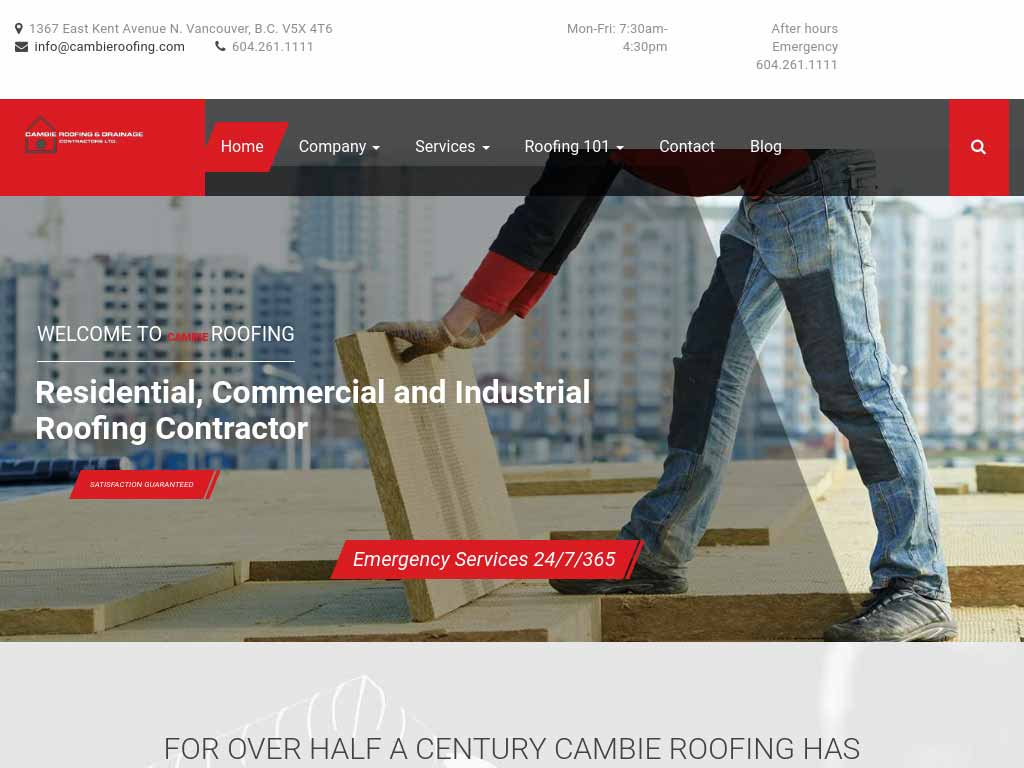 Cambie Roofing